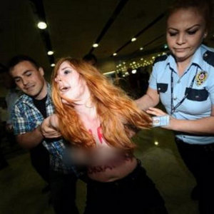 VE FEMEN İSTANBUL'DA