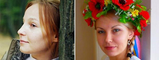 Anna Bolshakova e Yana Zhdanova