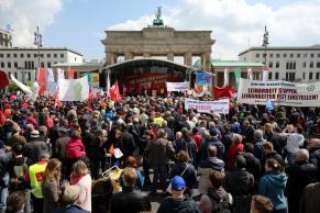 První máj v Berlíně