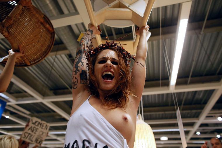 Protest FEMEN-u