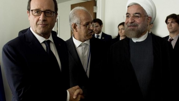Rouhani et Hollande