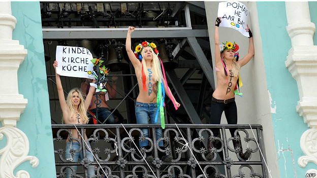 Ativistas do Femen