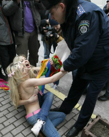 Ativistas do Femen (AFP)