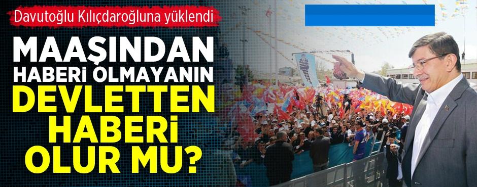 Ahmet Davutolu: Kldarolu kendi maandan haberi yok