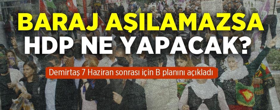 Selahattin Demirta aklad! Baraj alamazsa HDP ne yapacak?