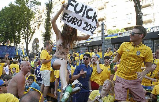 Femen protestieren unter anderem gegen den Sex-Tourismus der Euro - umsonst. Denn der bleibt offenbar aus