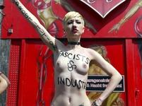 Protesty aktivistek Femen