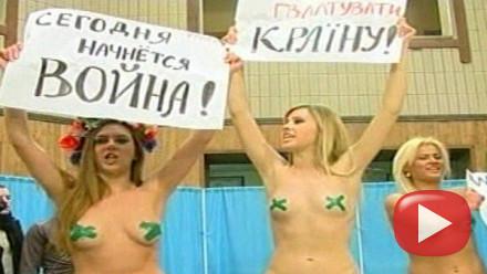 Aktivistky FEMEN