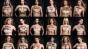 Das Markenzeichen von Femen: der Protest mit entblten Brsten. Die Darstellung von Brustwarzen gilt in den USA als unschicklich.