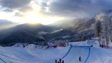 Oben, auf rund 2000 Metern Hhe, finden dann auch die alpinen Wettbewerbe der Spiele statt.
