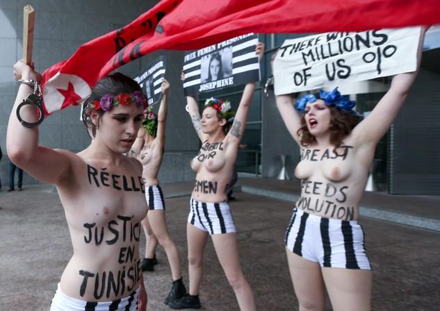 Piersiami w Parlament Europejski. FEMEN znw atakuje
