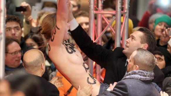 Frauenrechts-Gruppe: Femen sorgt fr Skandal auf der Berlinale