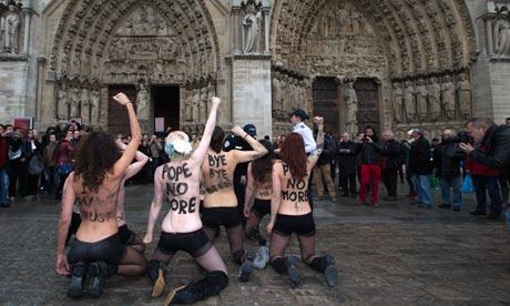 Femen protesters
