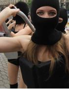 Nagie aktywistki ukraińskiej organizacji Femen