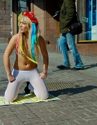 Nagie aktywistki FEMEN wspierają Japonię