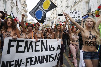 Le Femen si sono autodefinite le nuove femministe.