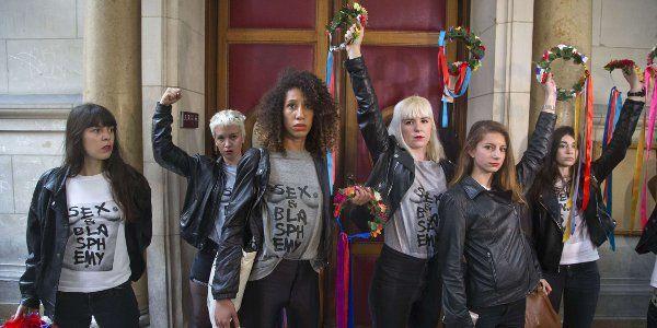 Le procès des Femen, suite à leur action à Notre-Dame de Paris en février 2013, s'est ouvert ce 9 ju