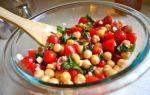 Insalata di ceci: la ricetta e le varianti più famose
