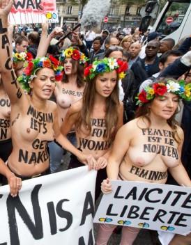 Un militant Femen passe a tabac en Ukraine