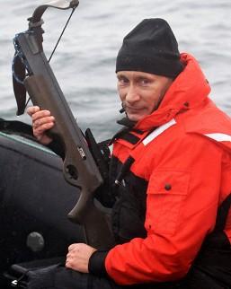 Putin auf Jagd