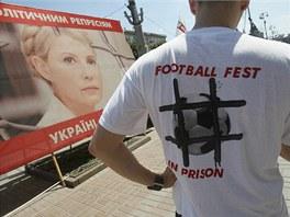MSTO V LӎI BUDE VE VZEN. Pznivec ukrajinsk expremirky Julie Tymoenkov