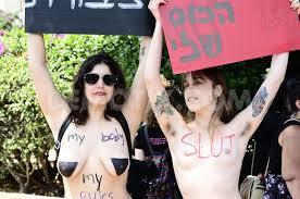 Dtail d'une slut walk  Tel Aviv  en aot 2012