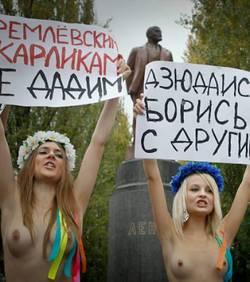 En Ukraine, trois fministes sont arrtes et abandonnes nues dans les bois