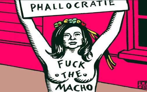 Valérie Trierweiler - Une de Charlie Hebdo
