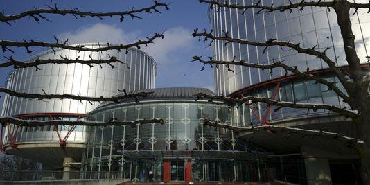 Le siège de la CEDH, à Strasbourg.