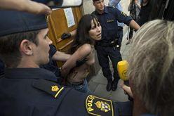 Activistas de FEMEN en Suecia