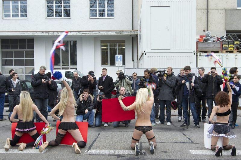 De Oekraïense feministes van de beweging ...