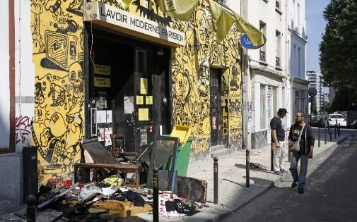 L'incendie du local des Femen a été maîtrisé vers 7h, dimanche