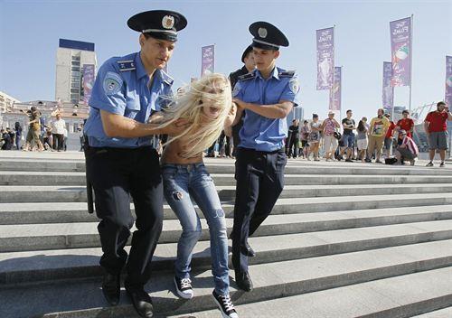 Activistas Feministas Femen