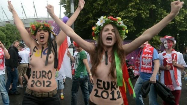 Femen le 8 juin