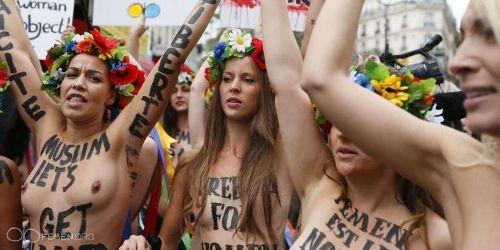 OLF sur les Femen : dommage de se déshabiller pour attirer l'attention sur le f