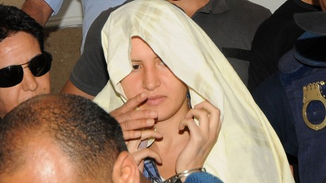 TOPSHOTS-TUNISIA-WOMEN-RIGHTS-TRIAL-FEMEN (Foto: SALAH HABIBI/Afp)
