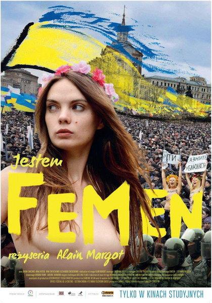 Jestem Femen: plakat