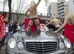 A Zurich, les Femen ont interrompu la circulation pendant un quart d'heure.