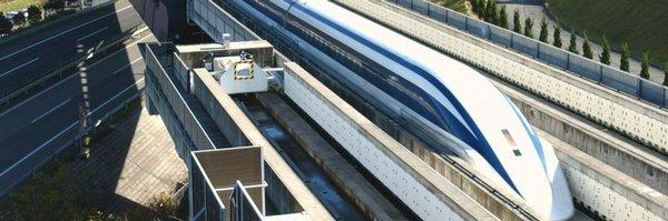Japonský rychlovlak překonal rekord, jel 590 kilometrů v hodině