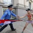 Femen, protesta a seno nudo a Kyiv04
