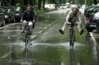 Fahradfahren macht nach Regen auch viel Spa