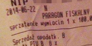 Klient musi zapłacić 100 zł za sprzątanie pawia w knajpie
