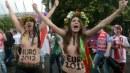 Euro 2012: in topless contro la prostituzione