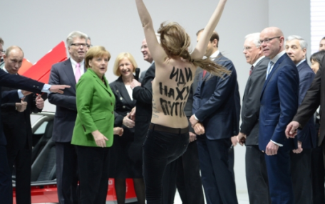 Escrache Putin