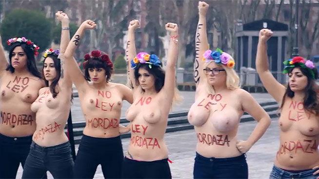 FEMEN, identificadas con la lucha contra la ley del aborto