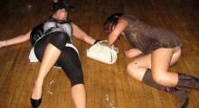 Sarhoş kızların görüntüleri rekor kırıyor!-2