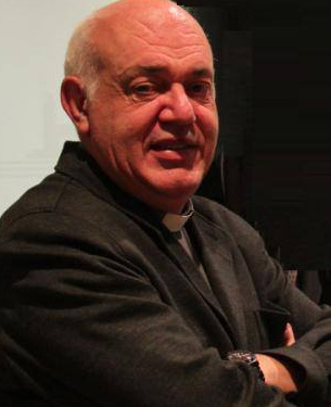El párroco Jorge González Guadalix. Foto colgada en su Facebook