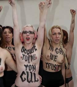 Les Femen feront l'objet d'une plainte de l'institut Civitas
