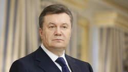 President Janoekovitsj eerder deze week in het presidentiële paleis in Kyiv.