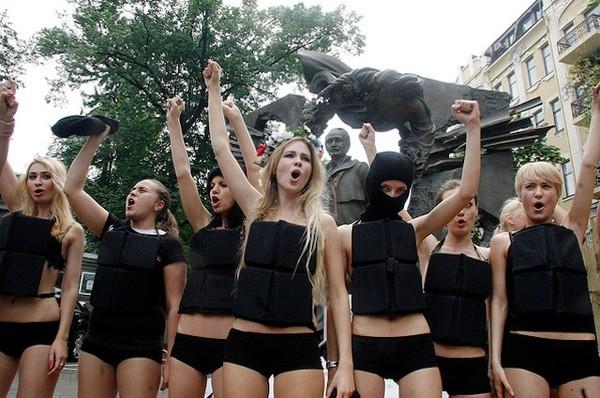Femministe corazzate